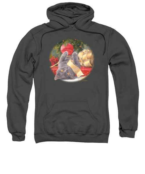 Christmas Surprise Sweatshirt by Lucie Bilodeau