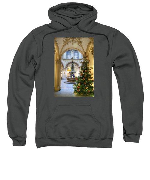 Christmas Tree In Ferstel Passage Vienna Sweatshirt