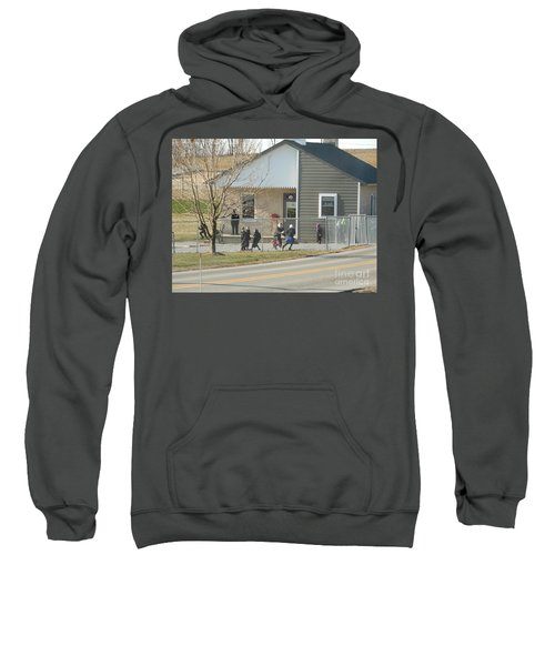 Christmastime At The Schoolhouse Sweatshirt