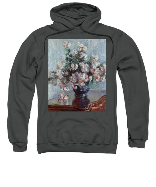 Chrysanthemums, 1882 Sweatshirt
