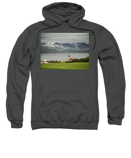 Church In Akureyri Sweatshirt