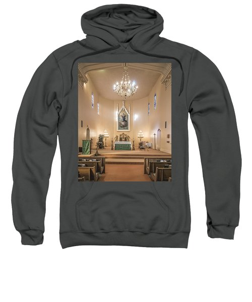 Church Of The Assumption Of The Blessed Virgin Altar Sweatshirt