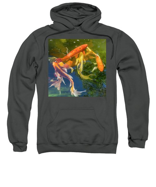 Circle Of Koi Sweatshirt