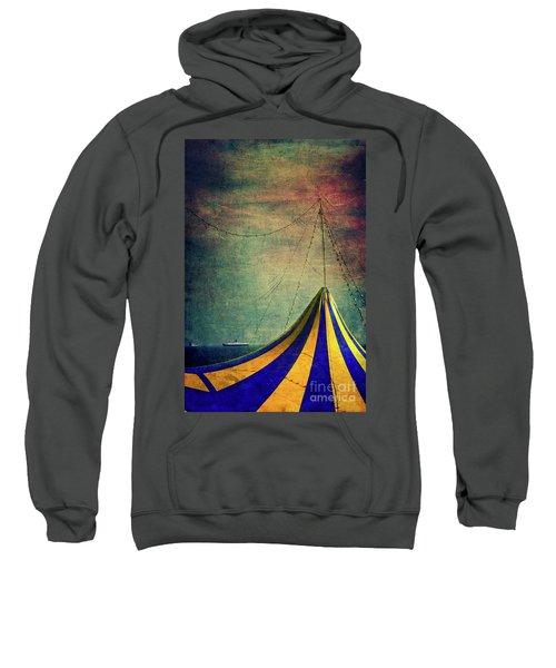Circus With Distant Ships II Sweatshirt by Silvia Ganora