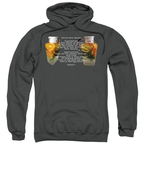 Citrus Mint Water Sweatshirt