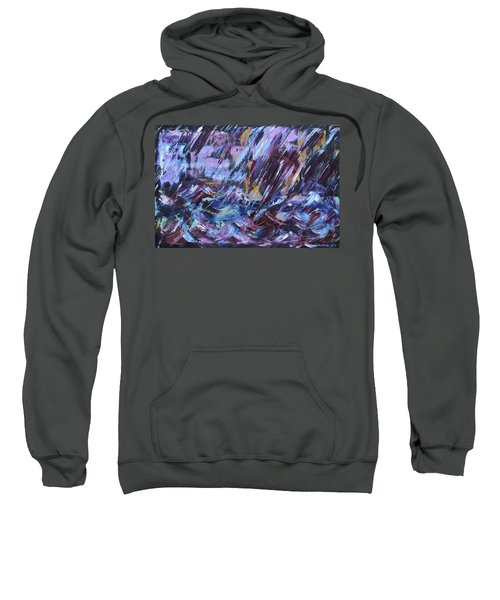 City Storm Abstract Sweatshirt
