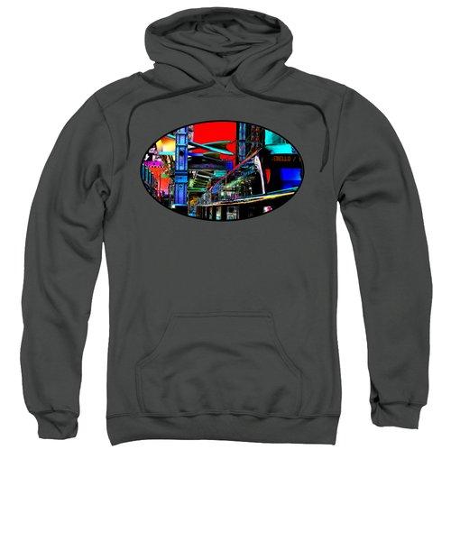 City Tansit Pop Art Sweatshirt