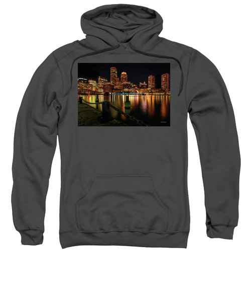 City With A Soul- Boston Harbor Sweatshirt