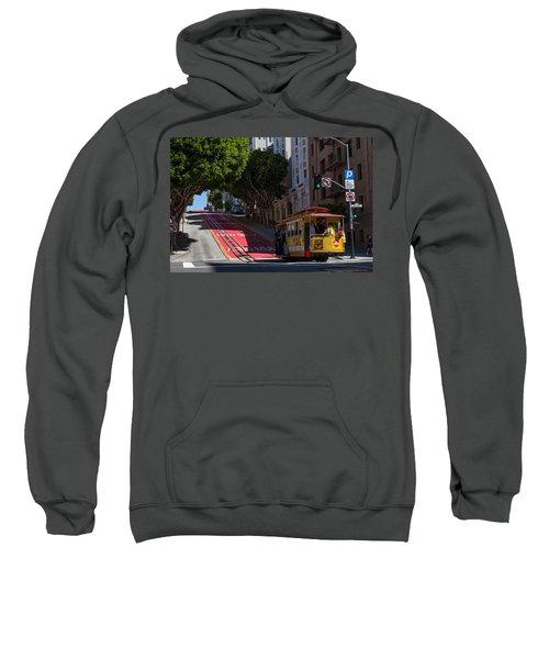 Clang Clang Goes The Cable Car Sweatshirt