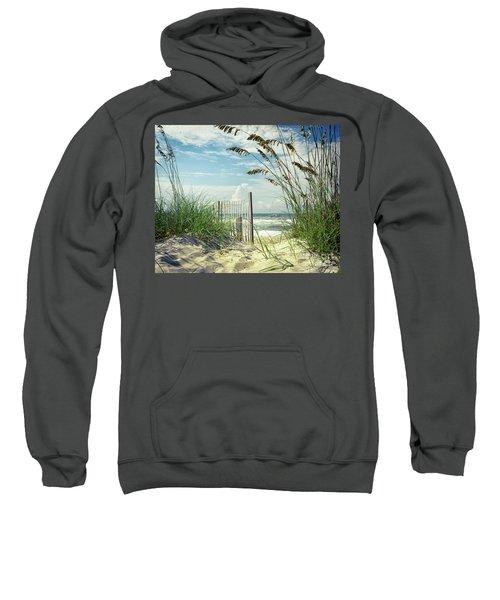 To The Beach Sea Oats Sweatshirt