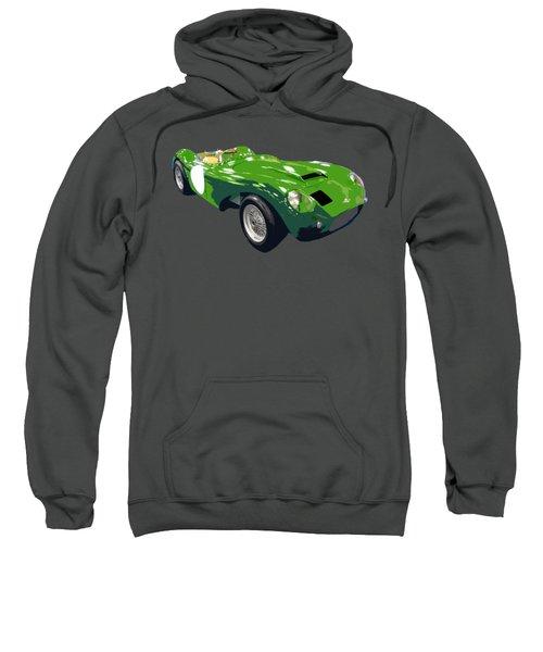 Classic Sports Green Art Sweatshirt