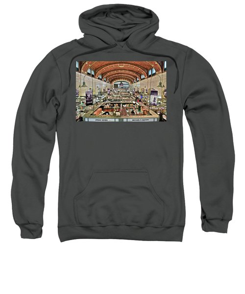 Classic Westside Market Sweatshirt by Frozen in Time Fine Art Photography