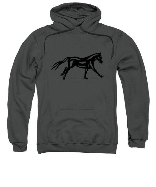 Clementine - Abstract Horse Sweatshirt