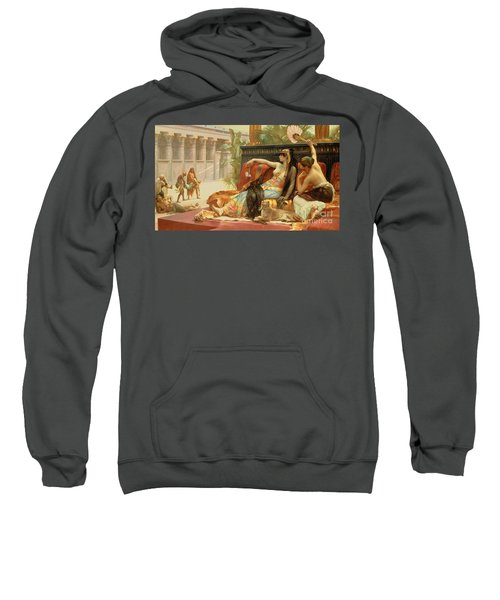 Cleopatra Testing Poisons On Those Condemned To Death Sweatshirt
