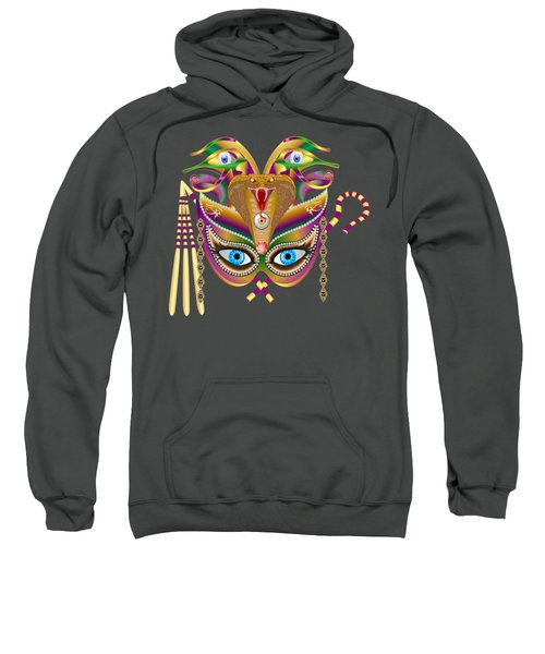 Cleopatra Viii For Any Color Products But No Prints Sweatshirt by Bill Campitelle