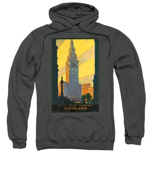 Cleveland - Vintage Travel Sweatshirt