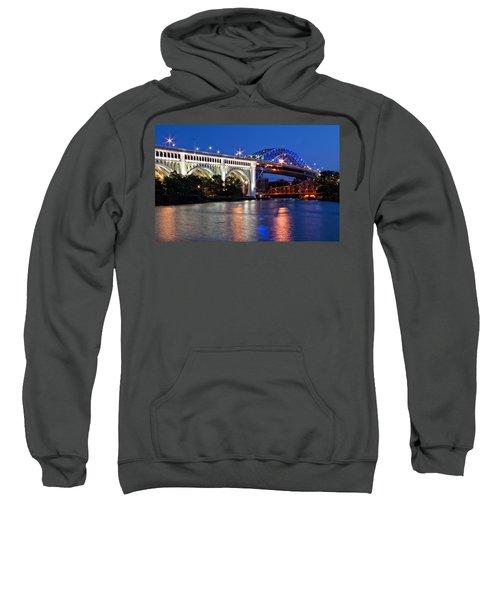Cleveland Colored Bridges Sweatshirt