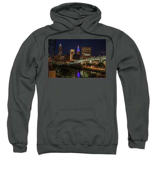 Cleveland Nightscape Sweatshirt