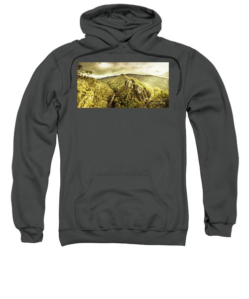 Cliffs, Steams And Valleys Sweatshirt
