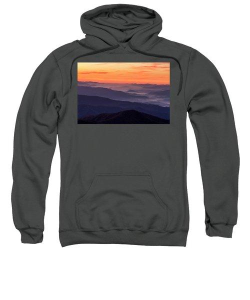 Clingmans Dome Fall Sunrise Sweatshirt