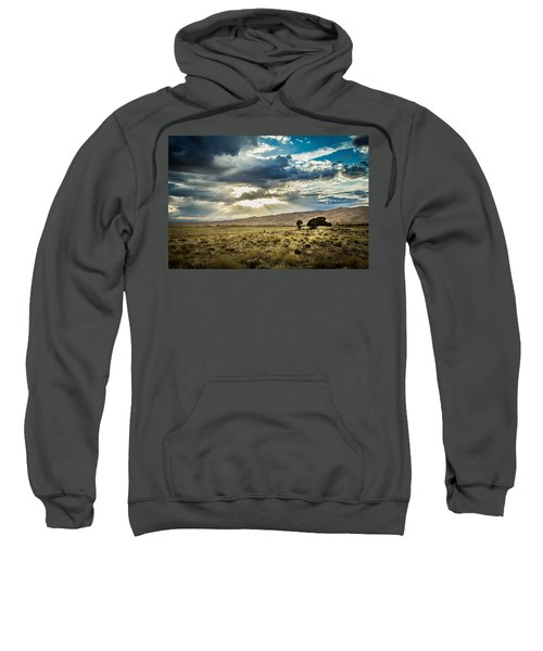 Cloud Break Over Sand Dunes Sweatshirt
