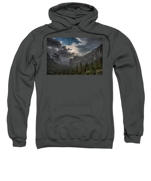 Clouds And Light Sweatshirt by Bill Roberts