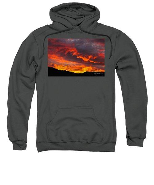 Clouds On Fire Sweatshirt