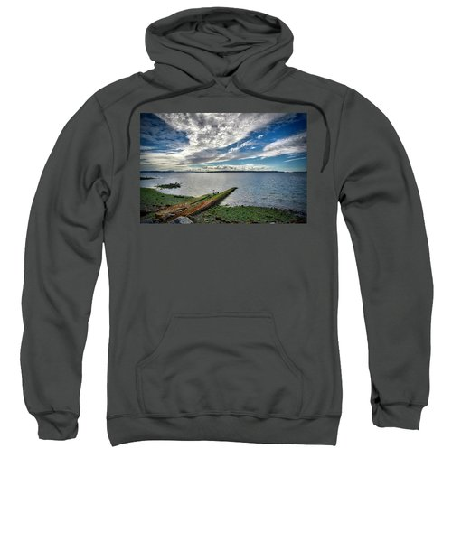 Clouds Over The Bay Sweatshirt