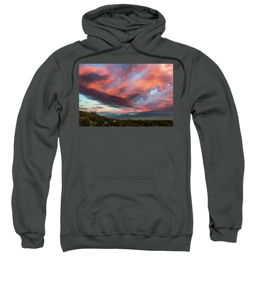 Clouds Over Warner Springs Sweatshirt