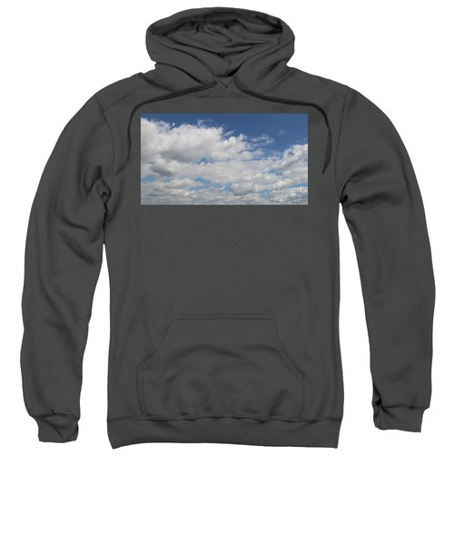 Sweatshirt featuring the photograph Clouds 17 by Rod Ismay
