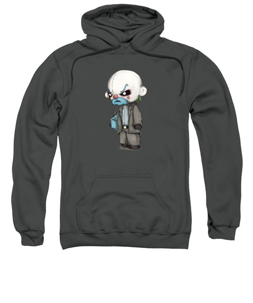 Clown Bank Robber Plush Sweatshirt