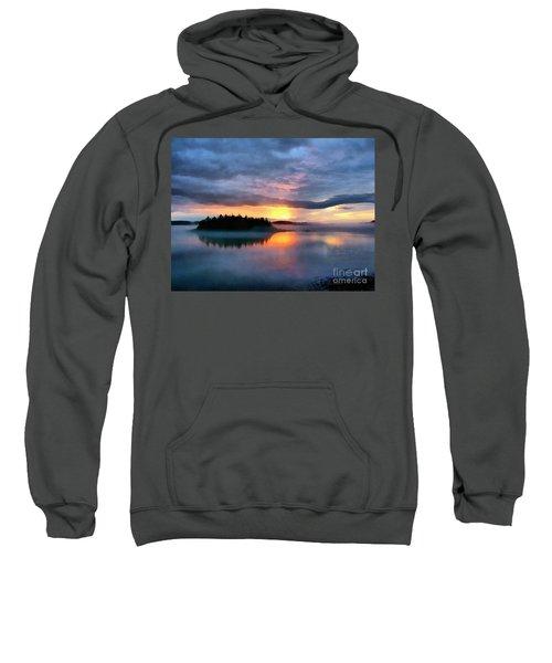Coastal Maine Sunset Sweatshirt
