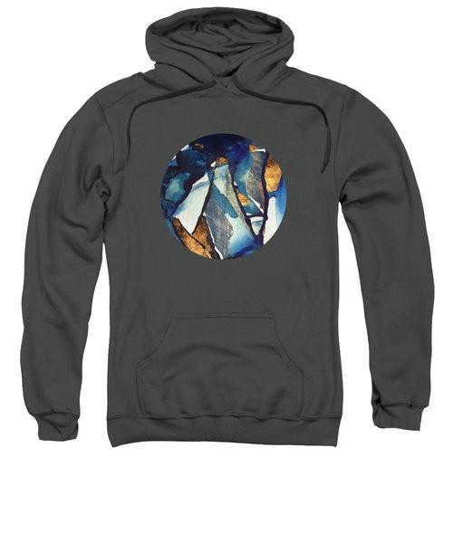 Cobalt Abstract Sweatshirt