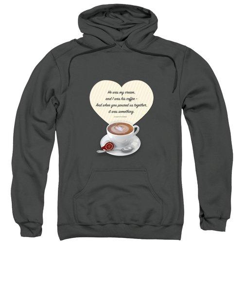 Coffee And Cream Sweatshirt