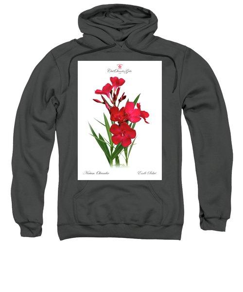 Cog  Nerium Oleander Emile Sahut Sweatshirt
