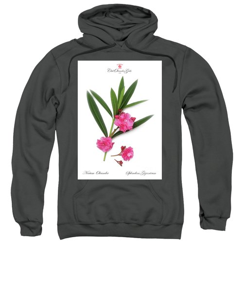 Cog  Nerium Oleander Splendens Giganteum Sweatshirt
