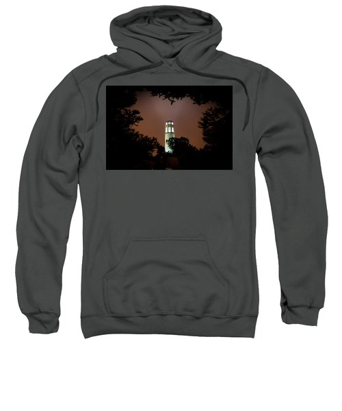 Coit Tower Through The Trees Sweatshirt