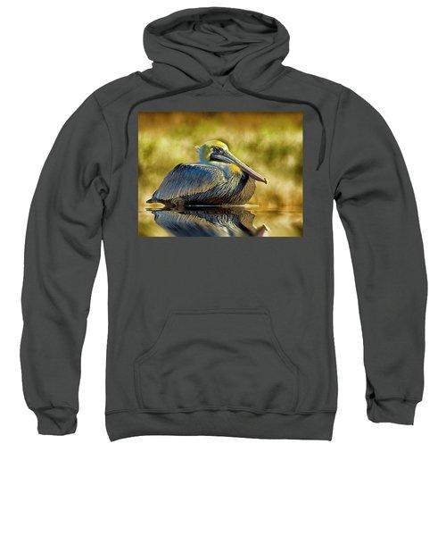 Cold Brown Pelican Sweatshirt