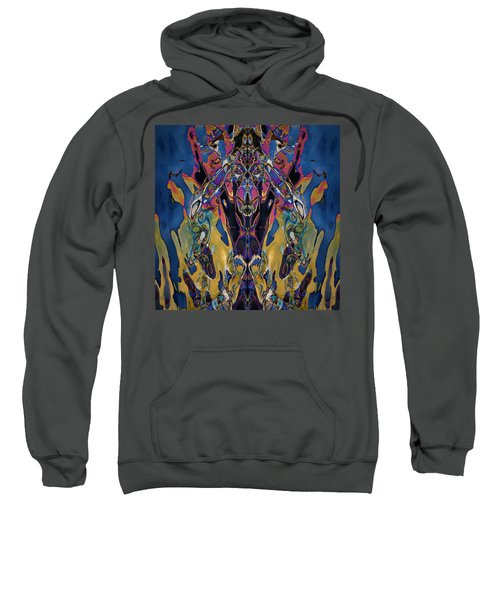 Color Abstraction Xxi Sweatshirt