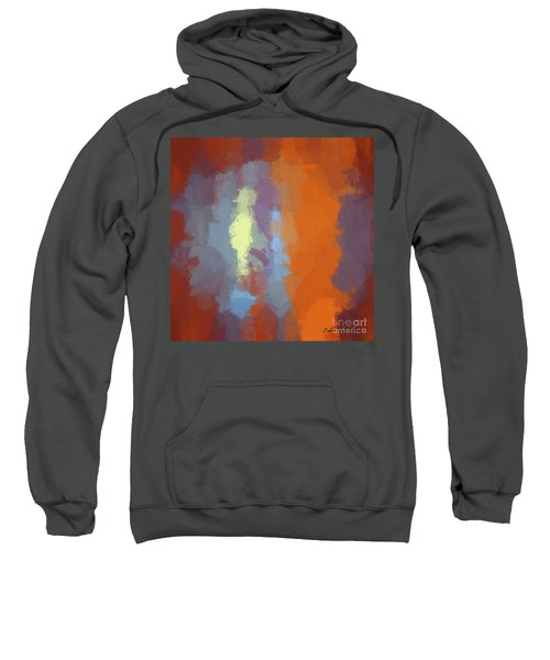 Color Abstraction Xxiii Sq Sweatshirt