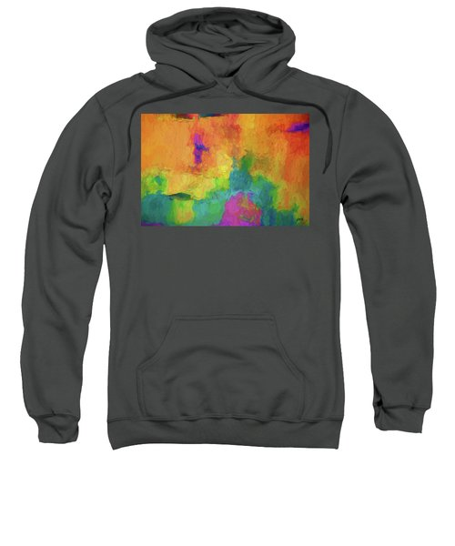 Color Abstraction Xxxiv Sweatshirt