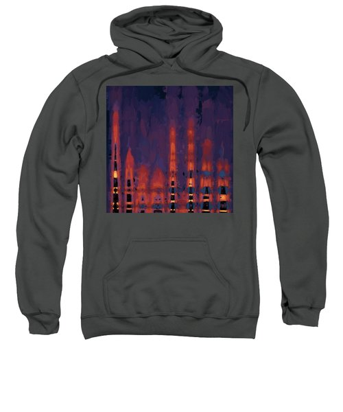 Color Abstraction Xxxviii Sweatshirt