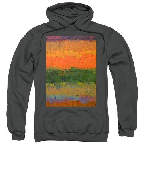 Color Collage Four Sweatshirt by Michelle Calkins