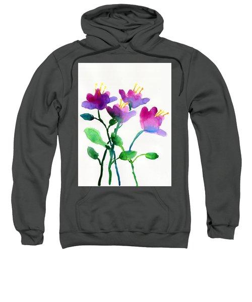 Color Flowers Sweatshirt