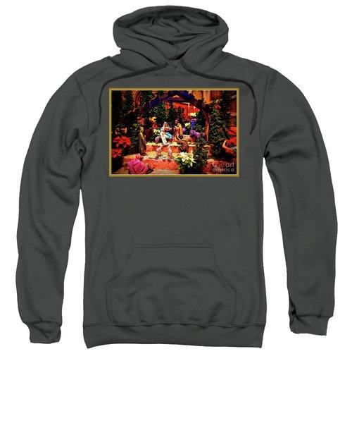 Color Vibe Nativity - Border Sweatshirt