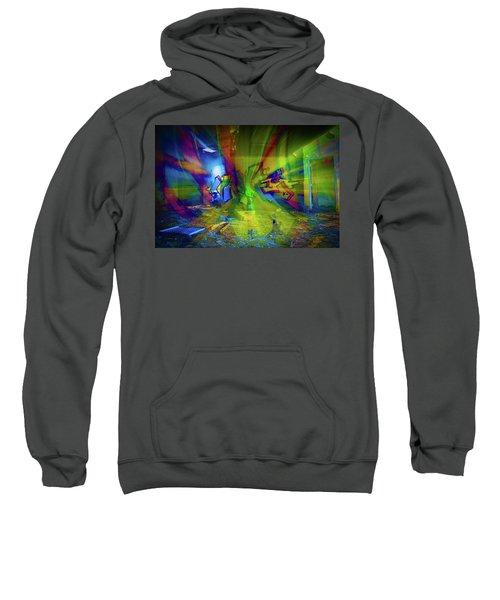 Color Wave Sweatshirt