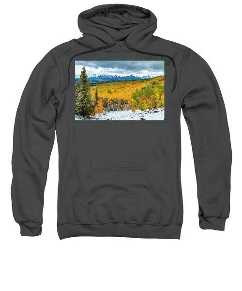Colorado Valley Of Autumn Color Sweatshirt