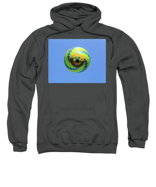 Colorful Abstract Hot Air Balloon Sweatshirt