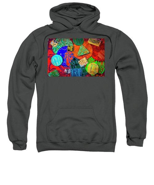 Colorful Circuit Boards Sweatshirt