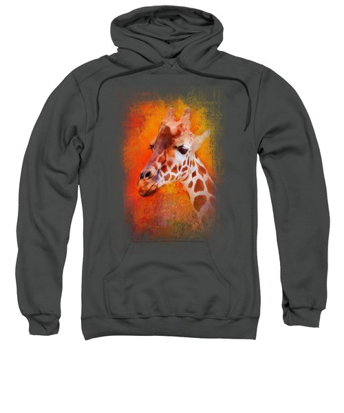 Colorful Expressions Giraffe Sweatshirt